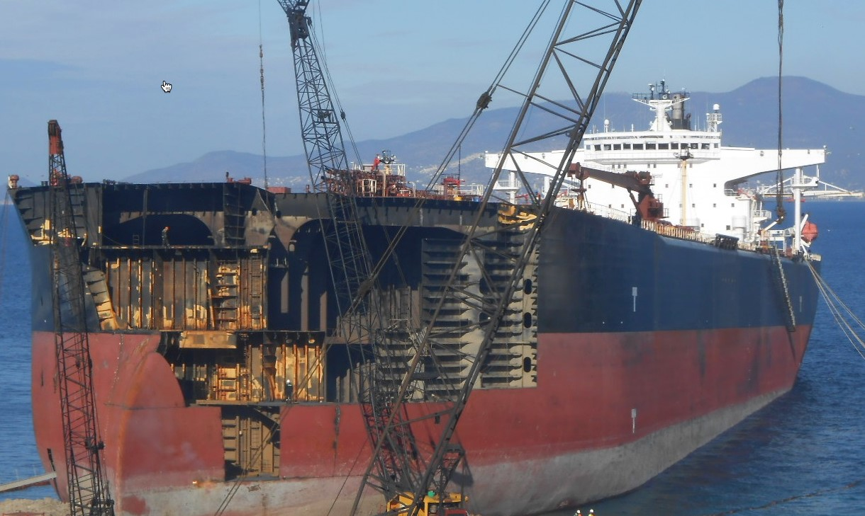 Ship owners not quite saying goodbye to beaching • Recycling