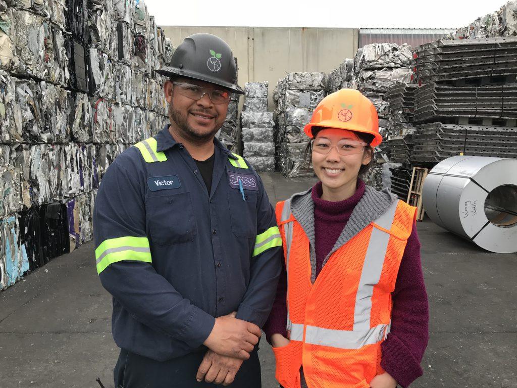 CASS Recycling Inc., scrapyard, metal scrap, USA, America, Oakland, metals, facility