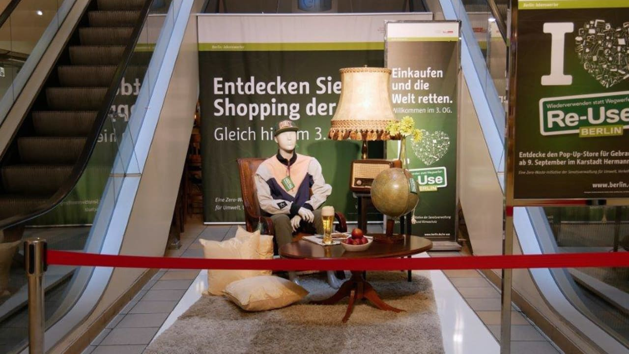 Step inside: welcome to the second-hand shopping mall